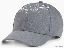 CK Calvin Klein  BaseBall Cap Ball Hat Military NWT  One Size  C.K. Gray Wool