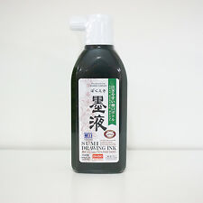 NEW Japanese Chinese Calligraphy Sumi Ink Bokuju 012155 180ml 1 Bottle Free S/H