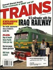 Trains Magazine July 2004 Narrow-gauge steam spectacle / B&O train control