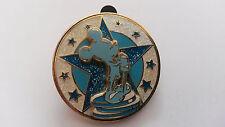 Mickey Star Award Winner Disney Land Paris Dlrp Dlp 2006 blue glitter pin on Pin