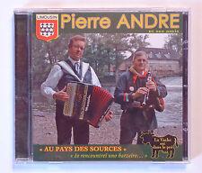 RARE CD ALBUM ACCORDEON / PIERRE ANDRE ET SES AMIS - AU PAYS DES SOURCES