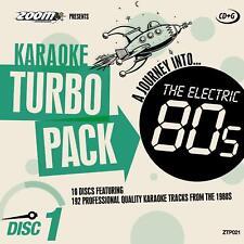 Zoom Karaoke CD+G Turbo Pack - 80's Hits 10 Disc Karaoke Pack