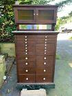 Antique Dental Cabinet (mahogany)