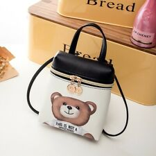 New This is not a MOSCHINO Toy Text Teddy Bear Pouch Party Small Crossbody BAG