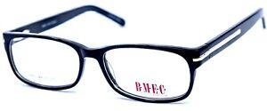 B.M.E.C. Big Mens Eyewear Club Big Bang Black Rectangular Eyeglasses 55-17-145