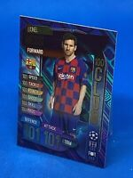 MATCH ATTAX 2019/20 HUNDRED 100 CLUB LIONEL MESSI FC BARCELONA