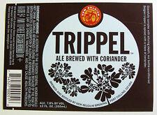 New Belgium TRIPPEL beer label CO 12oz