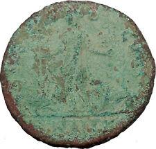 GORDIAN III Viminacium Legions Ancient Roman Coin Bull and lion  i35934