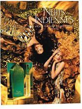 PUBLICITE  1983   JEAN-LOUIS SCHERRER    parfum NUITS INDIENNES
