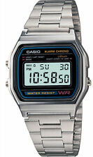 Casio A-158W-1CR Men's Classic Watch - Silver