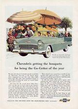 1955 Chevrolet Chevy Bel Air 2-Door Convertible PRINT AD