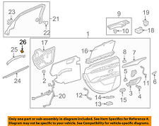 GM OEM Quarter Panel-Wheelhouse Liner Grommet 11546868