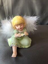 Bradford Exchange Heavenly Angel Figurine 3� Precious Love