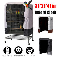 Large Bird Cage Cover Universal Parrot Cage Protector Cloth Cover 31''x21'&# 039;x41''