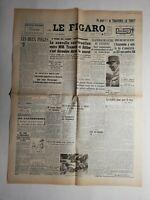 N407 La Une Du Journal Le figaro 6 décembre 1950 nouvelle conversation Truman