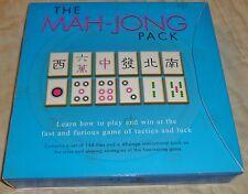New Carlton THE MAH-JONG PACK Mahjongg 48 Pg Rule Book & Strategies, Orig $27