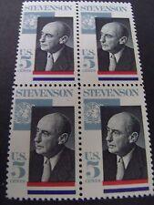 US Postage Stamp 1966 STEVENSON Scott 1275  4-5c
