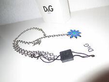 Dolce & Gabbana señora collar dj0429 Flower cadena flor cadenas collares nuevo