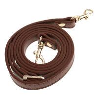 120cm Leather Long Shoulder Bag DIY Purse Handbags Strap Accessories Brown