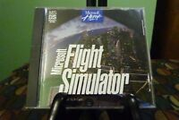 Microsoft Flight Simulator PC Game With Key Code NM Condition