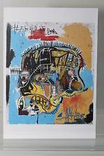 "JEAN-MICHEL BASQUIAT : ""SKULL""  Kunst-Postkarte"