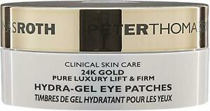 24K Gold Pure Luxury Lift and Firm Hydra-Gel Eye Patches, 60 count