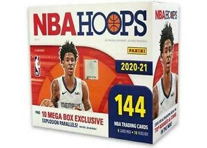 **IN STOCK ** 2020-21 Panini NBA Hoops Basketball Mega Box