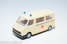 PRALINE CITROEN C35 FIAT 242 VAN AMBULANCE CREAM NEAR MINT CONDITION