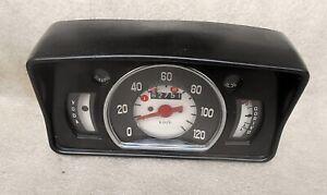 Zastava 750 Fiat 600 Dashboard old type Vintage 1980's Speedometer