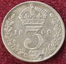 GB Threepence 1909 (C2801)