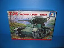 Italeri 1:35 T-26 Soviet Light Tank  leichter russischer Panzer in OVP No. 359