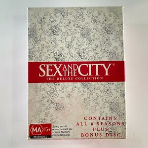 SEX AND THE CITY the deluxe collection DVD