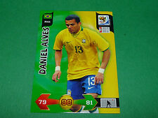 DANIEL ALVES BRASIL PANINI FOOTBALL FIFA WORLD CUP 2010 CARD ADRENALYN XL