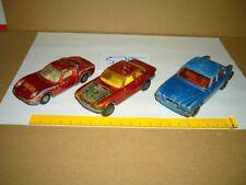 Konvolut Nr. 575 Modellautos MATCHBOX-Lesney, Lamborghini Miura K-24, Jaguar XJ