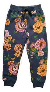 GIRLS KIDS PRETTY NEXT FLORAL PRINT JOGGERS SWEATPANTS AGE 3 - 4 Y YRS YEARS NEW