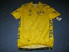 TOUR DE FRANCE 2014 LCS YELLOW LEADERS CYCLING JERSEY [Medium] BNWT
