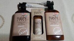 Nashi Argan Shampoo, Conditioner & Instant hydrating styling mask