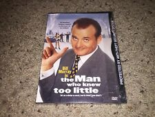 The Man Who Knew Too Little (DVD, 1998) Original Snapcase *NEW/SEALED!*