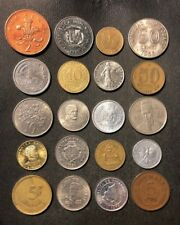 Coins of the World Lot - 20 Different Nations - FREE SHIP - Lot #D5A