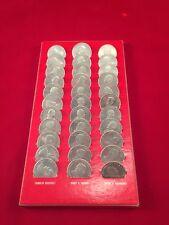 Vintage President Metal Coin Set 33/33 Coins Osborne Register Company Lot SHARP!