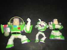 TOY STORY BUZZ LIGHTYEAR LOT OF 3 PIXAR ACTION FIGURE