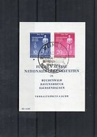 DDR Briefmarken - Block 11 - Befreiungstag 1955 mit ETSST