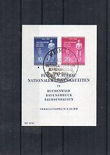 DDR Briefmarken - Block 11 - Befreiungstag 1955 mit Sonderstempel