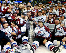 Colorado Avalanche Stanley Cup 2001 CELEBRATION ON ICE Premium POSTER Print