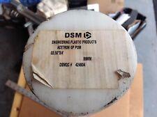 "Acetron: 3.500"" Diameter X 25 1/2"" Long, Actual 3.580"" In Size, Acetal"
