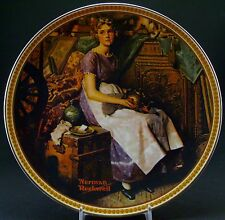 """Norman Rockwell's Rediscovered Women Collection """"Dreaming in the Attic"""" – Plate"""