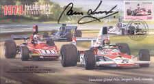 1974 MCLAREN-COSWORTH FERRARI 312B3 MOSPORT PARK F1 cover signed TOM BELSO