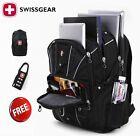 """17"""" Wenger Waterproof Swiss Gear Men Travel Bag Macbook laptop hike backpack"""