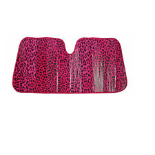 New Pink Leopard Car Truck Windshield Folding Front Window Sun Shade Large Size
