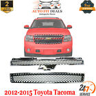 Front Upper Lower Grille Chrome For 2007-2014 Chevrolet Tahoe Avalanche